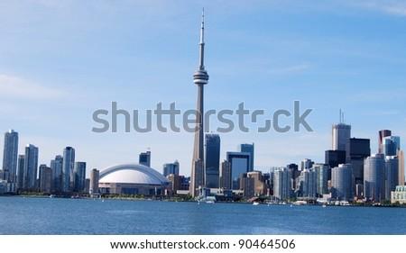 Toronto Skyline in Canada - stock photo
