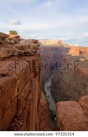 Toroweap Point, Grand Canyon National Park - stock photo