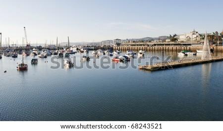 Torquay Harbour, Devon, England - stock photo
