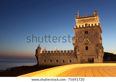 Torre de Belem, Lisbon, Portugal - stock photo