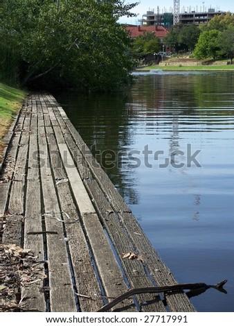 Torrens River - stock photo
