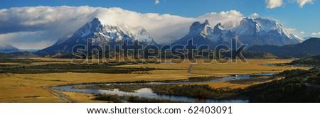 Torres del Paine - stock photo