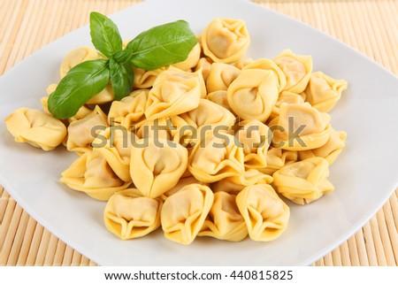 Tortellini - stock photo