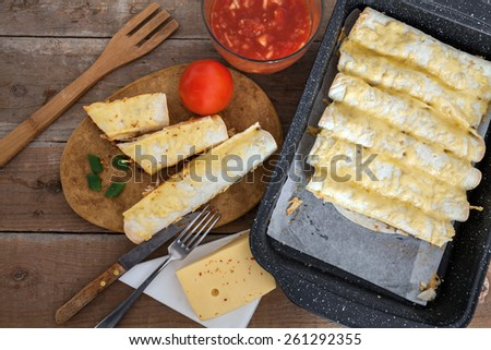 Tortilla wraps - stock photo
