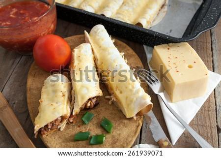 Tortilla wraps - stock photo