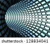 torus tunnel - stock vector