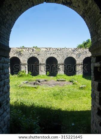 Totenburg mausoleum in Walbrzych, Poland - stock photo