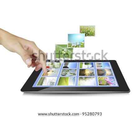 touch pad concept