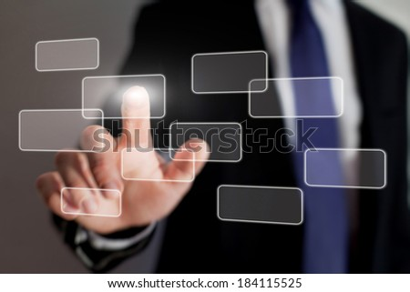 touch screen interface technology