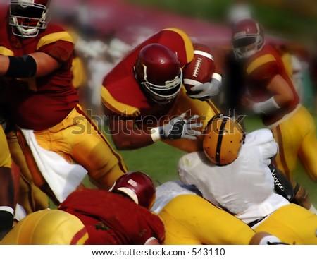 Touchdown - stock photo