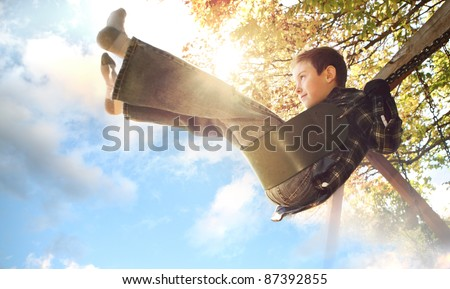 Touching the Sky - stock photo