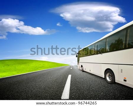 Tour - stock photo
