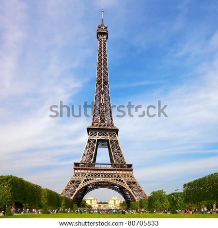 Tour eiffel - European national landmark - stock photo
