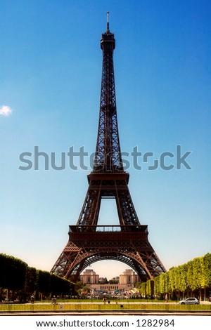 Tour Eiffel, France - stock photo