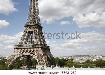 Tour Eiffel Paris *** Local Caption *** - stock photo
