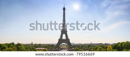 tour eiffel symbol of Paris - stock photo
