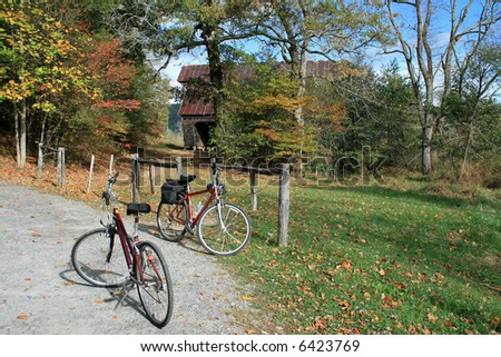 Touring Cades Cove by bicycle