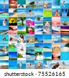 Tourism Vacation Outdoor - stock photo