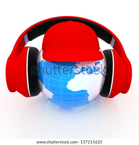 Tourism. World music concept - stock photo