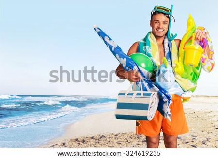 Tourist Humor. - stock photo