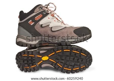 touristic shoe - stock photo