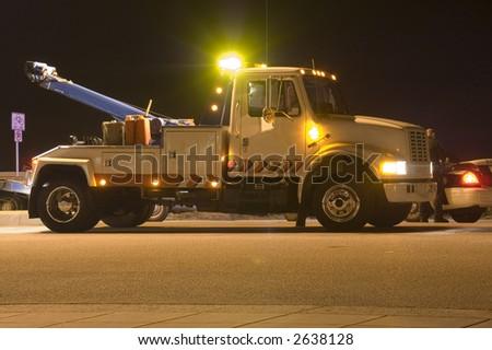 Tow Truck - stock photo