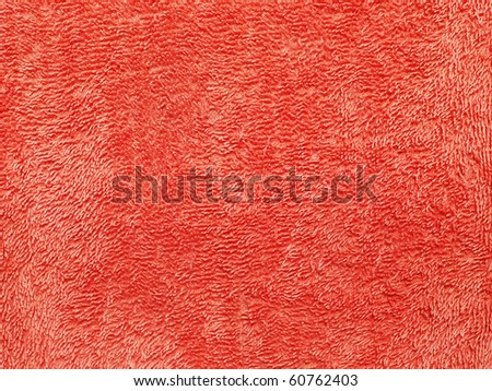 Towel background texture - stock photo