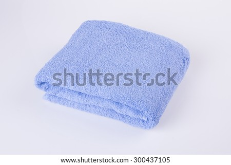 towel. towel on the background - stock photo