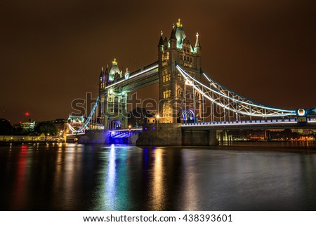 Tower Bridge, England