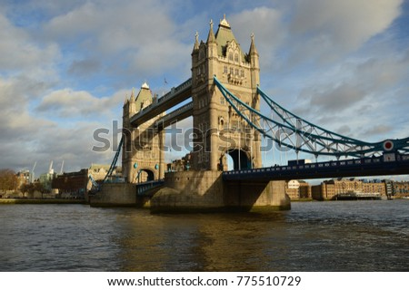 Tower Bridge in central London