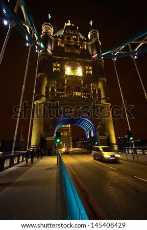 Tower Bridge - London - stock photo