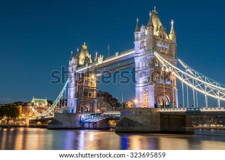 Tower Bridge, London - stock photo