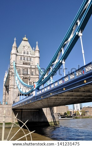 Tower Bridge, London, England, UK - stock photo