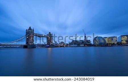 Tower Bridge ,London,UK  - stock photo
