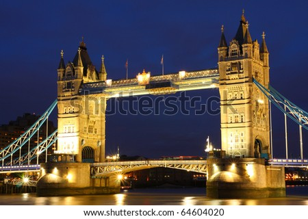 Tower Bridge, United Kingdom - stock photo