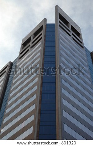 tower building - stock photo