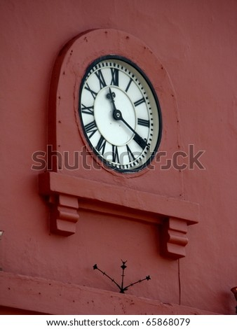 tower clock face