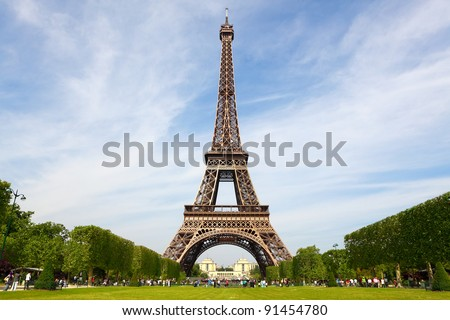 Tower in Paris