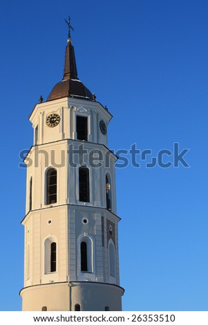 Tower in Vilnius, Lithuania