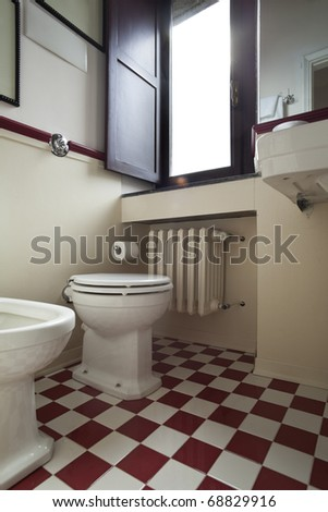 tower, luxury residential apartments, bathroom