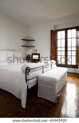 tower, luxury residential apartments, bedroom view