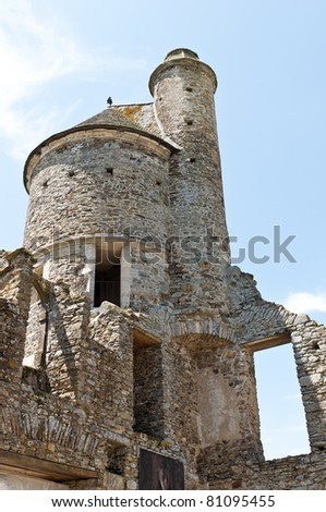 tower of a castle in France