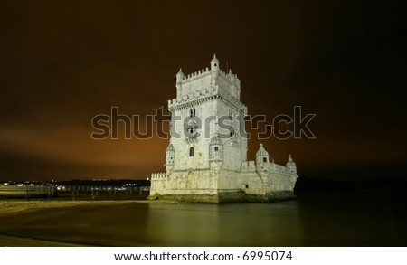 Tower of Belem - Portugal - stock photo