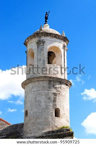 Tower of la Giraldilla , a symbol of Havana - stock photo