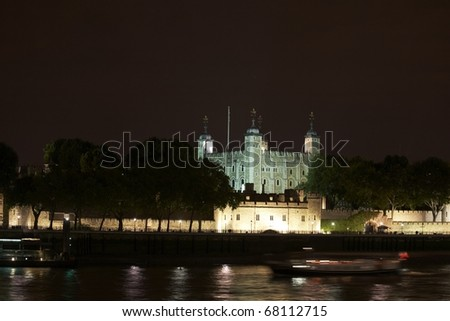 Tower of London. - stock photo