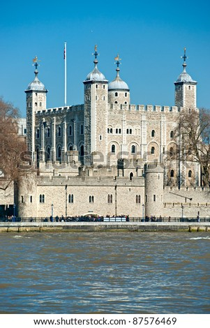 Tower of London, London, UK - stock photo