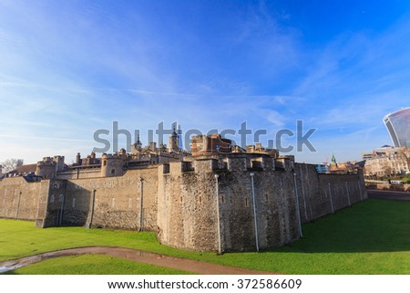 Tower of London, United Kingdom - stock photo