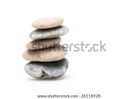 tower of pebbles