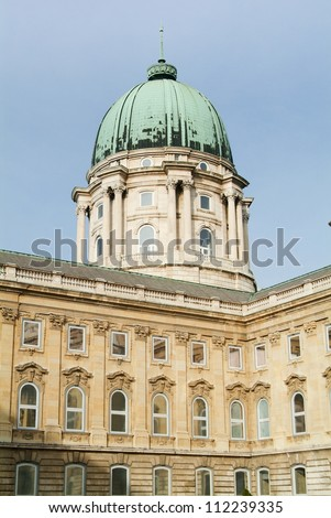 Tower of Royal Castle in Budapest