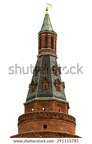 Tower of the Kremlin. Moscow. Russia - stock photo